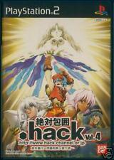 PS2 .hack// Vol 4 QUARANTINE Import Japan  .hack//G.U.