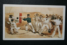 HMS Hecla    Royal Navy Paddle Sloop  Crimean War  Illustrated Card # VGC / EXC