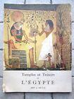 Temples et trésors de l'Egypte, Art et Style n°31, 1954