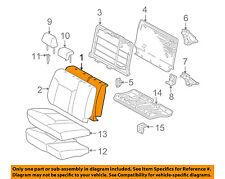 TOYOTA OEM 05-15 Tacoma Rear Seat-Seat Back Pad Left 7165204020