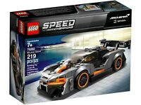 LEGO 75892 Speed Champions McLaren Senna Model Racing Toy Car Kids Building