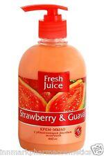 47669 Cream-soap with rice milk Strawberry & Guava 460ml Fresh Juice
