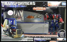TRANSFORMERS DARK OF THE MOON DA03 OPTIMUS PRIME MECHTECH TRAILER AUTOBOX