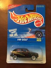 Hot Wheels 1996 VW Golf Collector #474 With Tampo Spokes Fahrvergnugen Vhtf $$