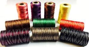 10 x Spools Pack 100% Variegated Rayon Machine Embroidery Thread Spools UK
