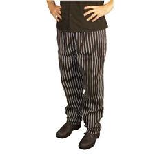 Jrc Ritz Foodservice 4000-4104 Baggy Style Chef Pants - Chalk Stripe, Size Large