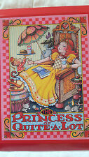"New In Box Mary Engelbreit The Princess of Quite A Lot Wood Plaque Red 9"" x 7"""