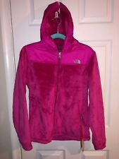 NWT WOMENS THE NORTH FACE OSO HOODIE COAT JACKET SZ S Passion PINK AUTHENTIC