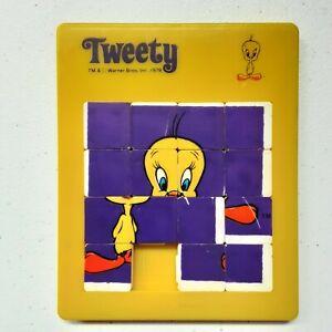 Vintage 1979 Tweety Bird Warner Bros Sliding Puzzle Slide Puzzle Game