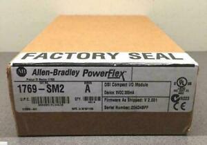 New Factory Sealed AB 1769-SM2 Ser A Compact I/O DSI/Modbus Module 1769SM2