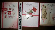 LOT OF 3 x GIBSON VALENTINES DAY LARGE CARDS WITH ENVELOPES kw1op1i1fs6