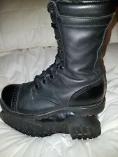 """Corcoran Military,Black Leather 10"""" Field Boots Size US 9.5, UK 8.5"""