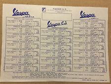 Vespa 125 150 GS Piaggio pubblicità d'epoca 1961