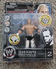 WWE BUILD AND BRAWL SHAWN MICHAELS HEARTBREAK KID WWF RARE SERIES 2 NEW 3.75 N