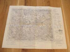 alte Landkarte Karte des Deutschen Reiches Nr.367 Finsterwalde von 1936 Schilda