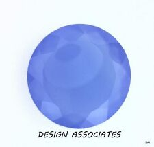 DARK BLUE CHALCEDONY 11 MM ROUND OUTSTANDING BLUE COLOR