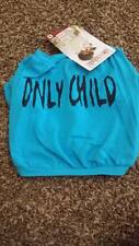 NWT Doggieduds Pet Fashion Puppy Dog Clothes T-shirt Only Child Blue Small