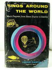 1959 RINGS AROUND THE WORLD Gartmann Scientific Wonders History 1st Ed. HCDJ