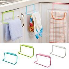 Home Wider Towel Rack Hanging Holder Organizer Bathroom Kitchen Cabinet Cupboard