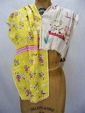 1940S -50S Novelty Print Scarves Childrens Print Fashion Scarves