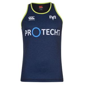 Ospreys Rugby Canterbury Vest Men's Training Singlet Vest - Navy - New