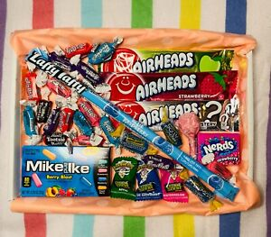 American Sweet Gift Box USA imported Candy Hamper FREE Delivery 30 Items!!!