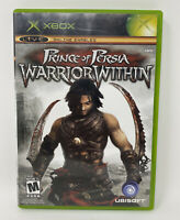 Prince of Persia: Warrior Within (Microsoft Xbox, 2004) Complete Tested Working
