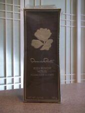 Rare Vintage Oscar de la Renta Perfume Body Powder Activee 3.5 oz for Women NIB