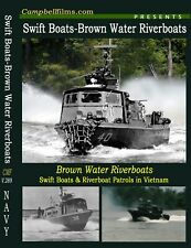 Navy Swift Boats & Brown Water Riverboats in Vietnam War films