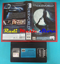 VHS film UNDERWORLD 2004 Kate Beckinsale Speedman columbia tristar (F89) no dvd