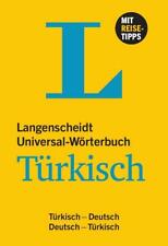 Langenscheidt Universal-Wörterbuch Türkisch (2015, Kunststoffeinband)