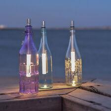 3er Set Bottle Light Für die Beleuchtung v. Weinflaschen Warmweiss Flaschenlampe