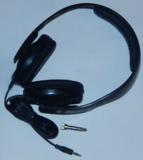 Sennheiser Kopfhörer Ohrhörer HD 437 Klinke 3,5mm + 6,3mm Adapter + neue Polster