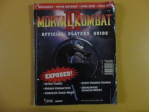 USED Mortal Kombat II Official Players Guide