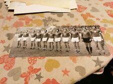CZECHOSLOVAKIA FOOTBALL TEAM, 1970'S, ORIGINAL PHOTO