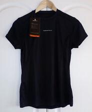 Ronhill Women's Aspiration Short Sleeve Pure Tee 05181 - 004 Black Size 10