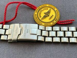 Breitling Titanium Bracelet Strap 20mm-18mm Superb Condition