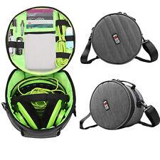 Large Capacity Earphone Headphone Case Bag Anti-Shock Waterproof Tote Slim Bag