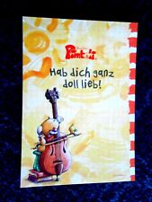 "Pimboli Block A6 Sprücheblock "" hab dich ganz doll lieb "" 35 Blatt + Sticker neu"