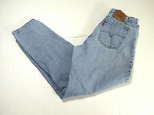 LEVIS 550 JEANS VINTAGE TAGGED 36 x 32 ACTUAL IS 34 x 31 Made in USA 40550-0213