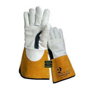 Prestige Predator TIG Welders Gauntlets Welding Gloves Size 8 small x 2 pairs
