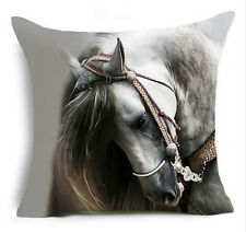 HORSE & WESTERN GIFTS HOME DECOR BAROQUE HORSE HEAD CUSHION COVER