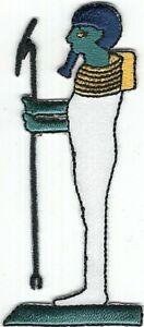 Égyptien Mythologie Creator-God Ptah Brodé à Repasser à Coudre Patch