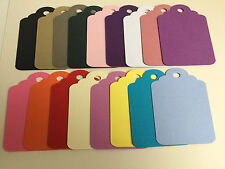 40 Small Gift tag embellishments create your own tags labels pinks purples blues