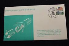 SPACE COVER 1968 HAND CANCEL APOLLO 7 SIM DOCKING & SPACE RESCUE SARZIN (1600)