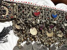 Indian kuchi empañada Joya Moneda De Color Plata Y Oro + collar cadena de campana