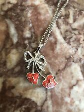 Vivienne Westwood Red Cherry Heart Necklace