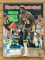 Sports Illustrated Magazine June 4, 1984 Magic Johnson Lakers