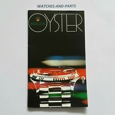 Rolex Rolex Oyster Catalogue Booklet FRENCH 1978 GENUINE ORIGINAL FR 1978 - 3.80