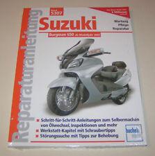 Reparaturanleitung Suzuki Motorroller AN 650 Burgman - ab Modelljahr 2002!